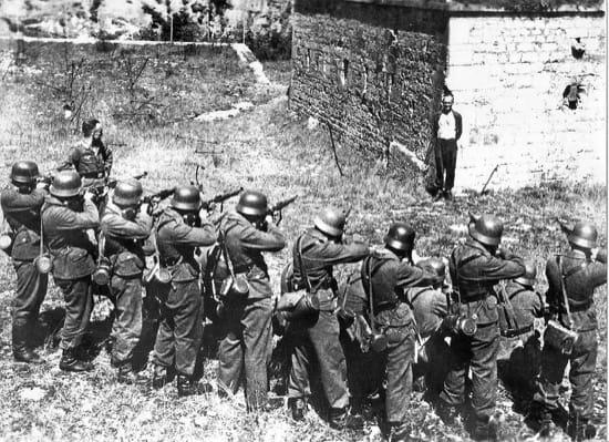 El hombre francés que sonrió ante su pelotón de fusilamiento nazi