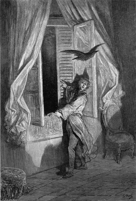 El Cuervo de Poe se inspiró en la mascota de Dickens