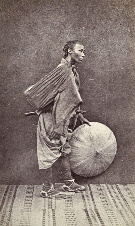 Fotos históricas de samuráis reales 2