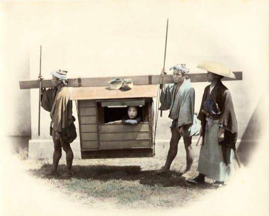 Fotos históricas de samuráis reales 8