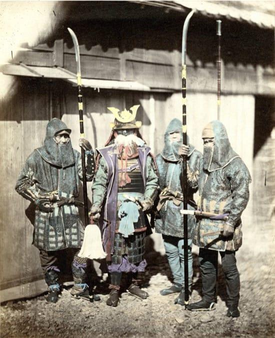 Fotos históricas de samuráis reales 7