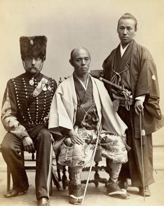 Fotos históricas de samuráis reales 6