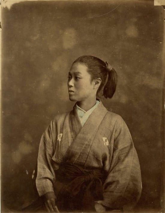 Fotos históricas de samuráis reales 5