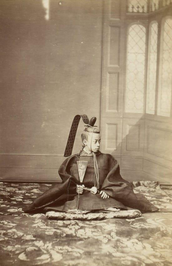 Fotos históricas de samuráis reales 3