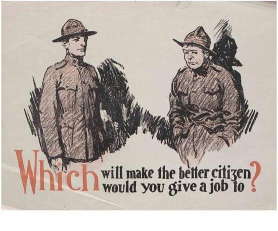 Carteles para Veteranos Primera Guerra Mundial 7