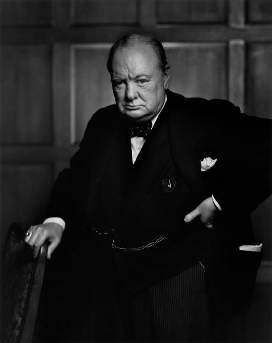 La historia tras la foto más famosa de Churchill