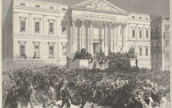 El Congreso de los Diputados está sobre un cementerio