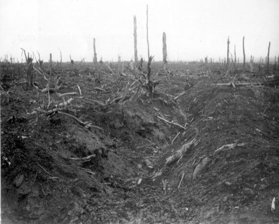 La zona roja de Francia, consecuencia de la Primera Guerra Mundial