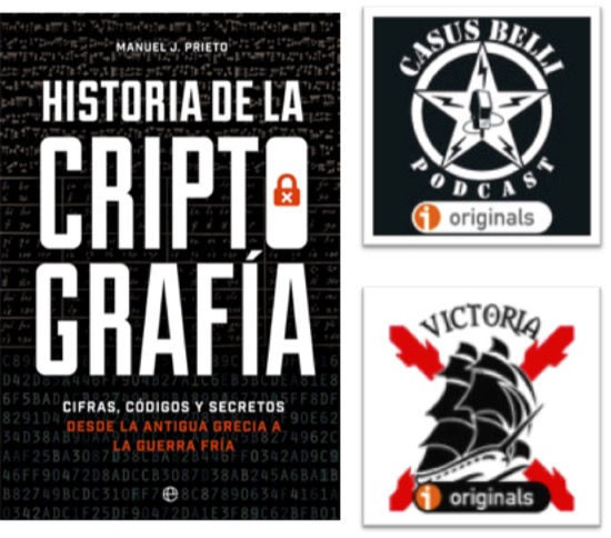 Podcast sobre la historia de la criptografía