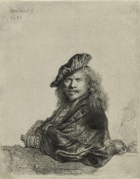 Rembrandt Autorretrato 1639