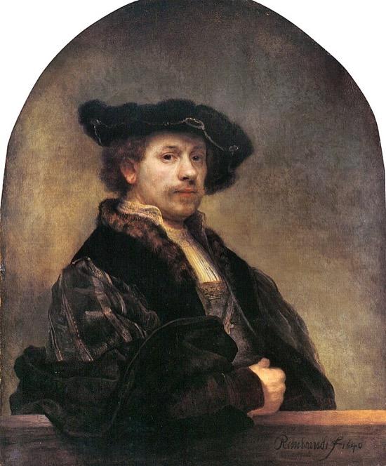 Rembrandt Autorretrato 1640