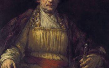 Rembrandt Autorretrato 1658