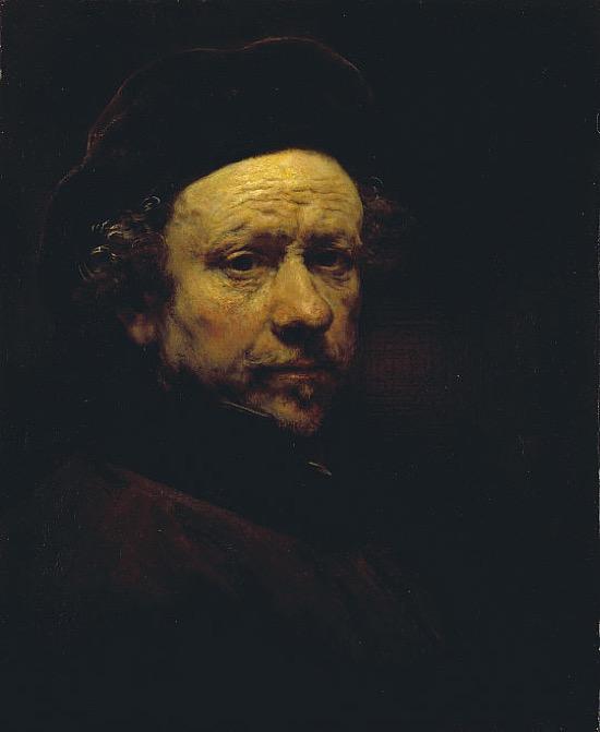 Rembrandt Autorretrato 1659