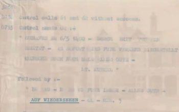 El último mensaje alemán capturado por Bletchley Park