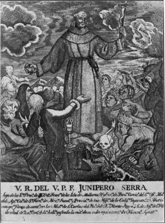 Fray Junípero Serra, el fundador de Los Ángeles