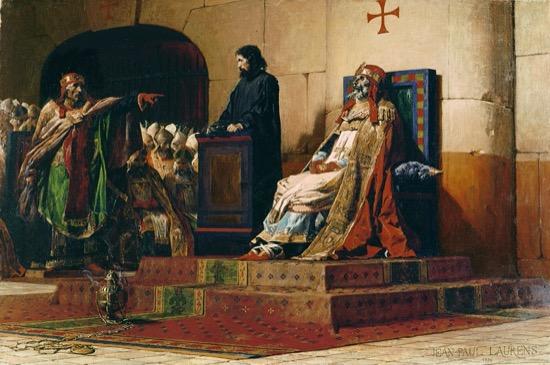 El Concilio Cadavérico que desenterró al papa Formoso para juzgarle