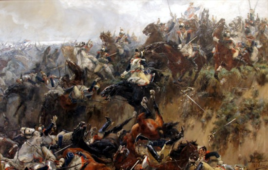 El barranco de Waterloo, de Ulpiano Checa (1895)