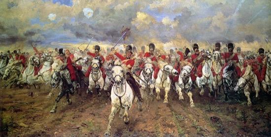 Scotland Forever!, de Lady Butler (1881)
