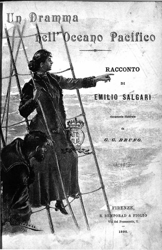 Antes de hacerse el harakiri, Emilio Salgari dejó una nota a sus editores