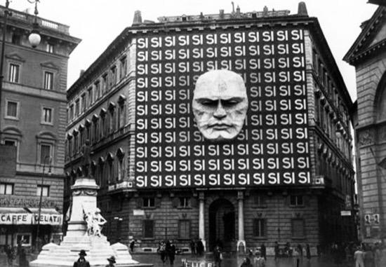 El Gran Hermano une a Apple, el 1984 de Orwell y a Mussolini