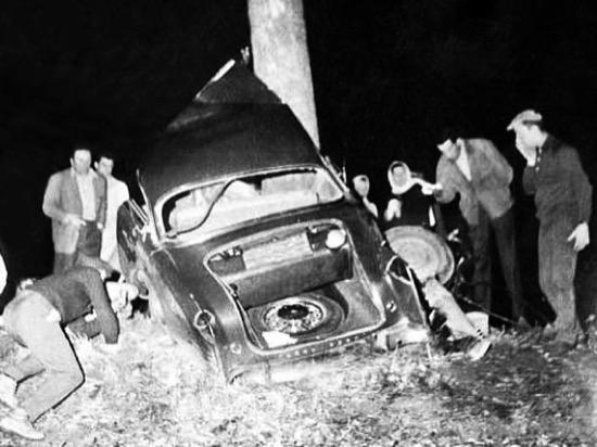 Albert Camus accidente
