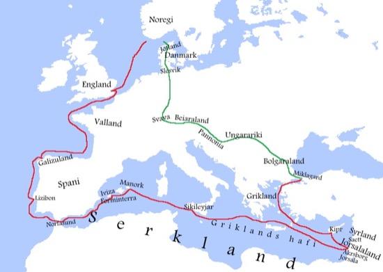 Sigurd I de Noruega, el primer rey en participar en las cruzadas2