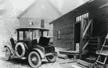 La mujer de Henry Ford conducía un coche eléctrico