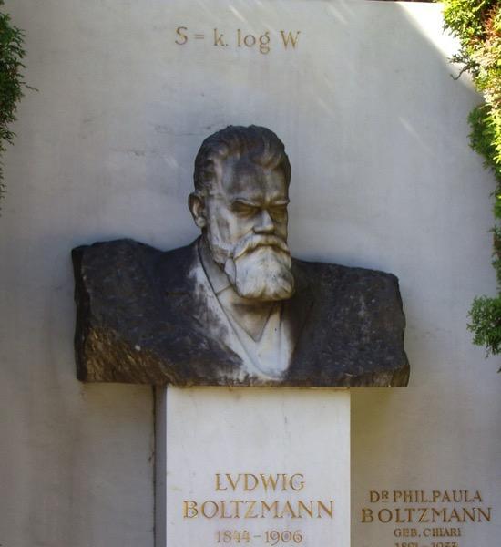 Los epitafios matemáticos de Arquímedes y Boltzmann