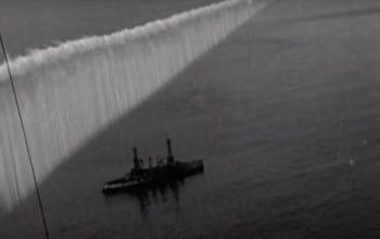 pantallas de humo creadas desde aviones en la Segunda Guerra Mundial