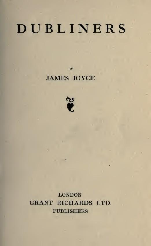 Las malas ventas y la mala suerte del libro Dublineses de James Joyce