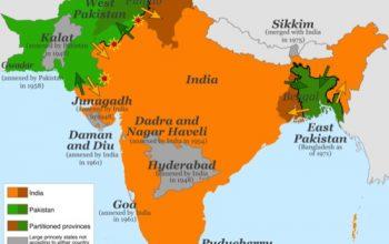El británico que definió la frontera de India y Pakistán sin haber estado allí
