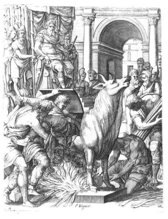 El toro de Falaris, un método de tortura con 20 siglos de vida