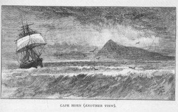 Navegar el cabo de Hornos permitía llevar un aro como pendiente