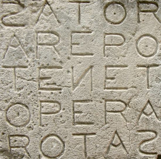 El cuadrado Sator, un cuadrado mágico con 20 siglos de historia