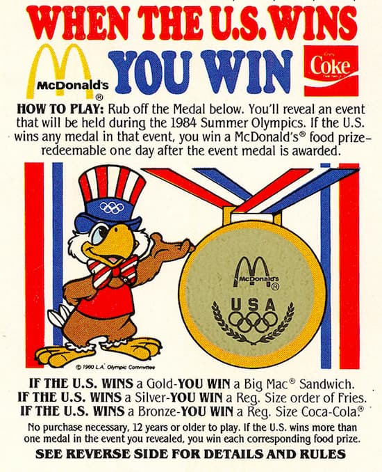 El boicot soviético en los Juegos de 1984 costó millones a McDonald's