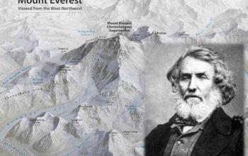 Everest, el hombre que dio nombre a la montaña contra su voluntad