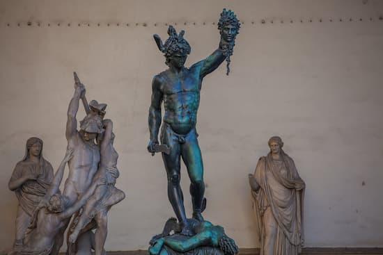 Perseo con la cabeza de Medusa - Cellini