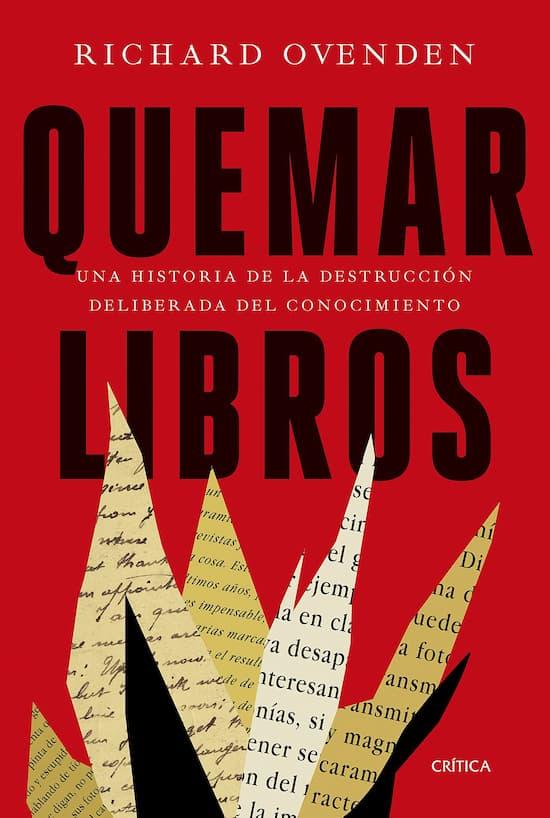 Quemar libros, de Richard Ovenden
