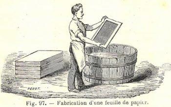 La idea de hacer papel con madera proviene de las avispas
