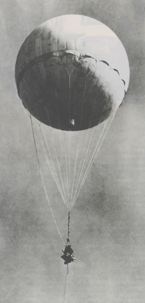 Los globos-bomba japoneses que cruzaron el Pacífico