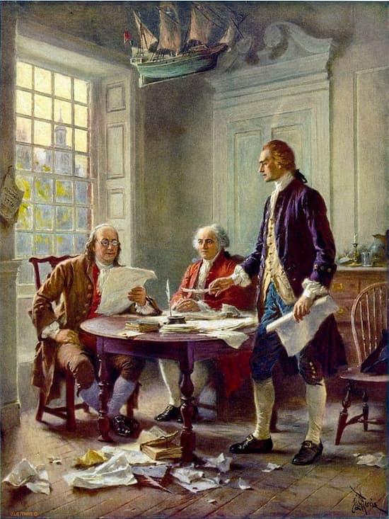 Dos firmantes de la Declaración de Independencia murieron un 4 de julio