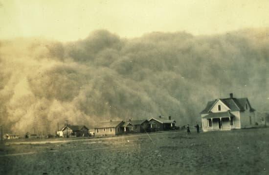 El Dust Bowl, la Gran Depresión, la sequía y la mala agricultura