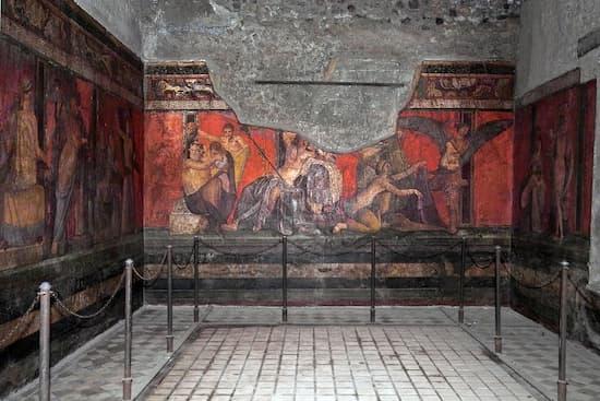 El boticario de Pompeya que tenia su negocio junto a un lupanar