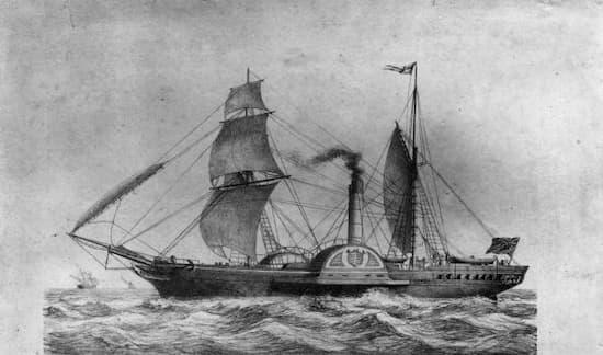 La carrera entre los primeros transatlánticos
