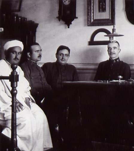 Abd el-Krim, a sueldo de España primero y su enemigo después