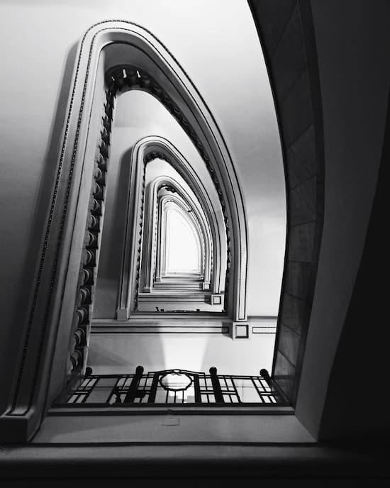 Escalera del Círculo de Bellas Artes